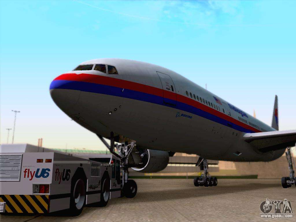 Boeing 777 2h6er malaysia airlines for gta san andreas for Gta sa plane interior mod