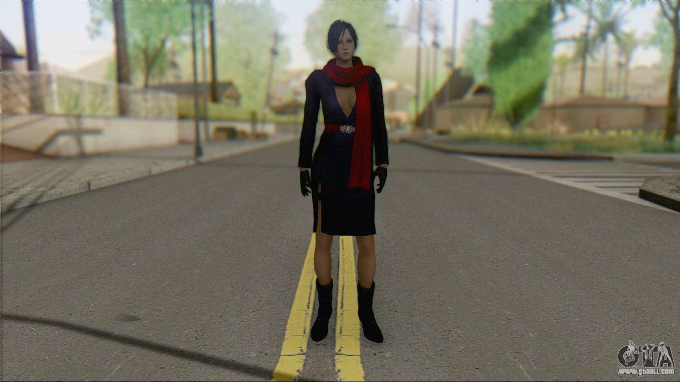 Ada Wong (Special Agent) V2 for GTA San Andreas