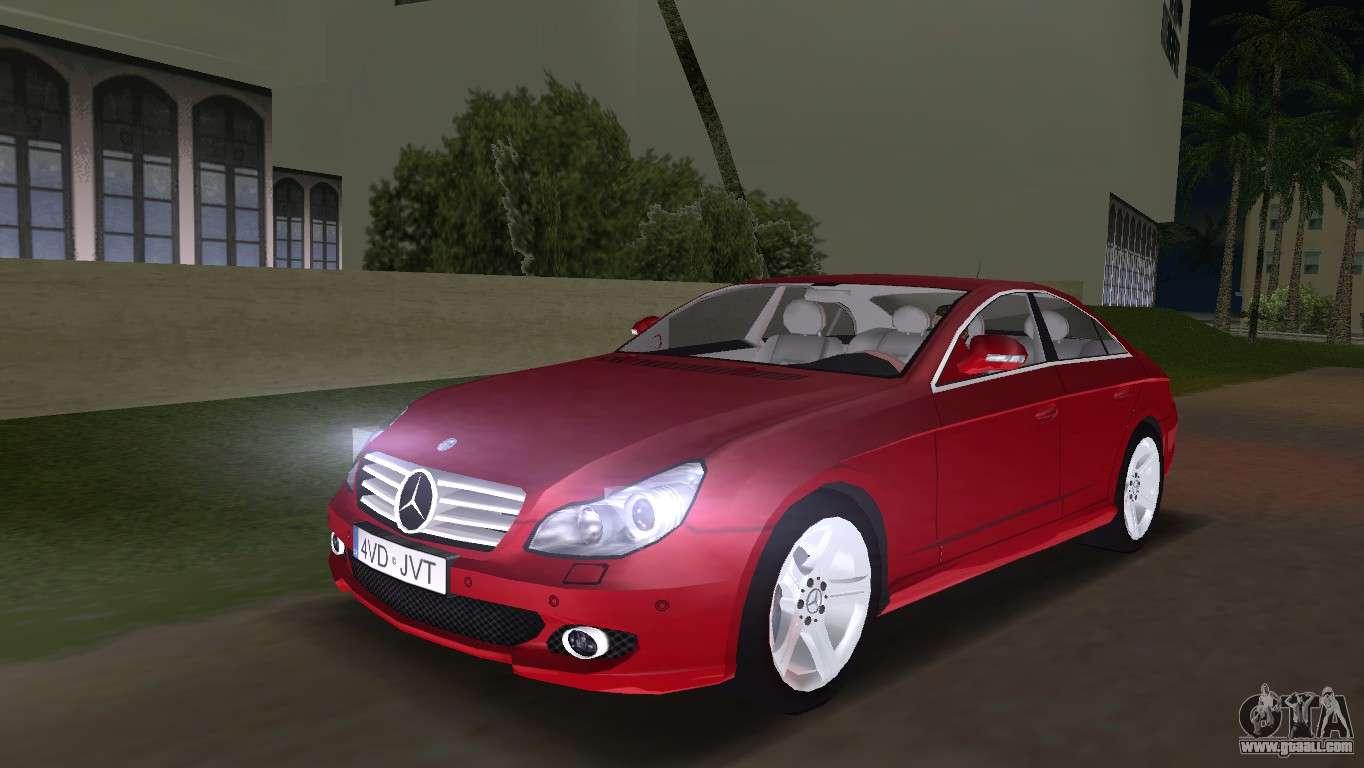 Mercedes benz cls500 for gta vice city for Mercedes benz city