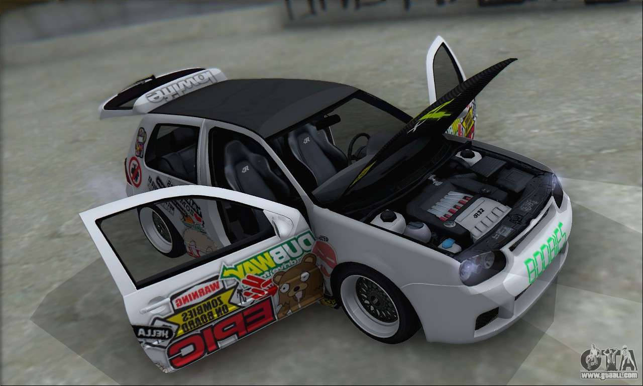 volkswagen golf mk4 r32 for gta san andreas. Black Bedroom Furniture Sets. Home Design Ideas