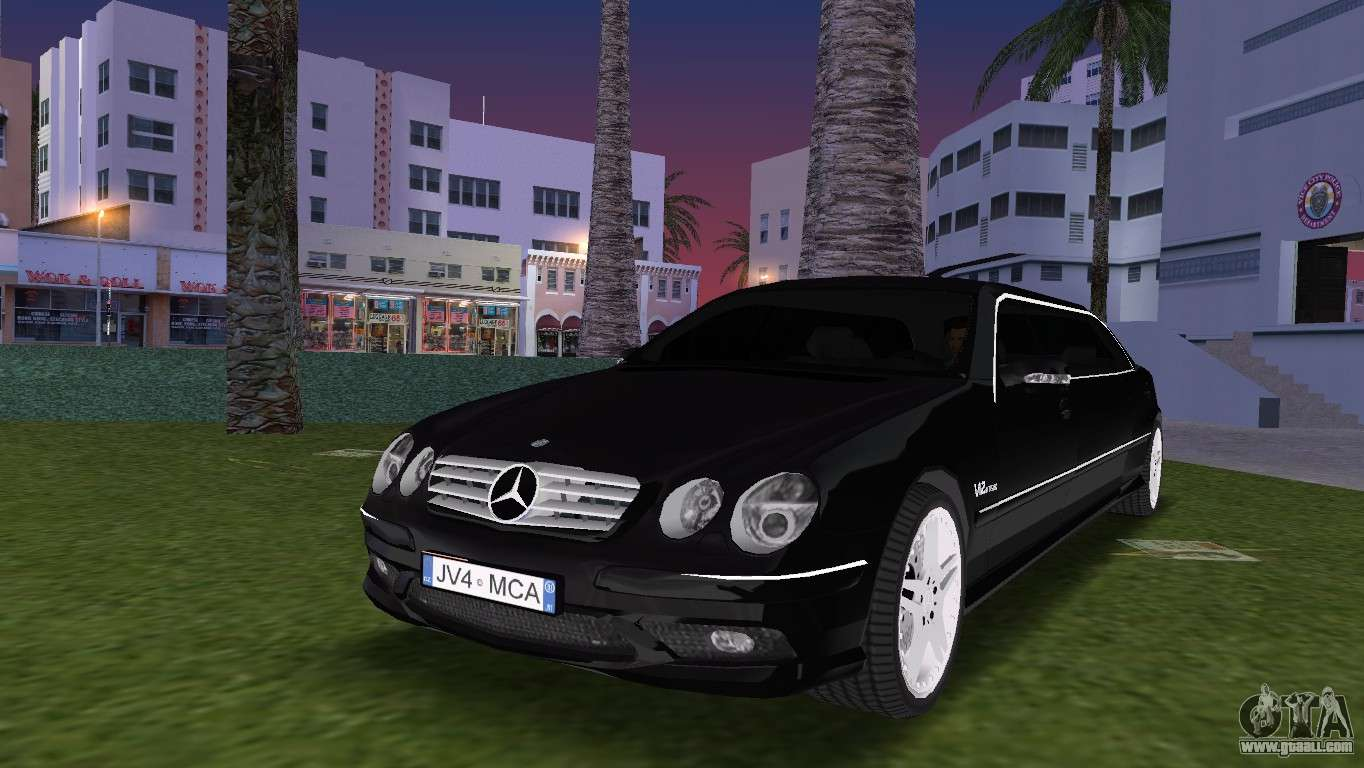 Mercede Benz Cl65 Amg Limousine For Gta Vice City