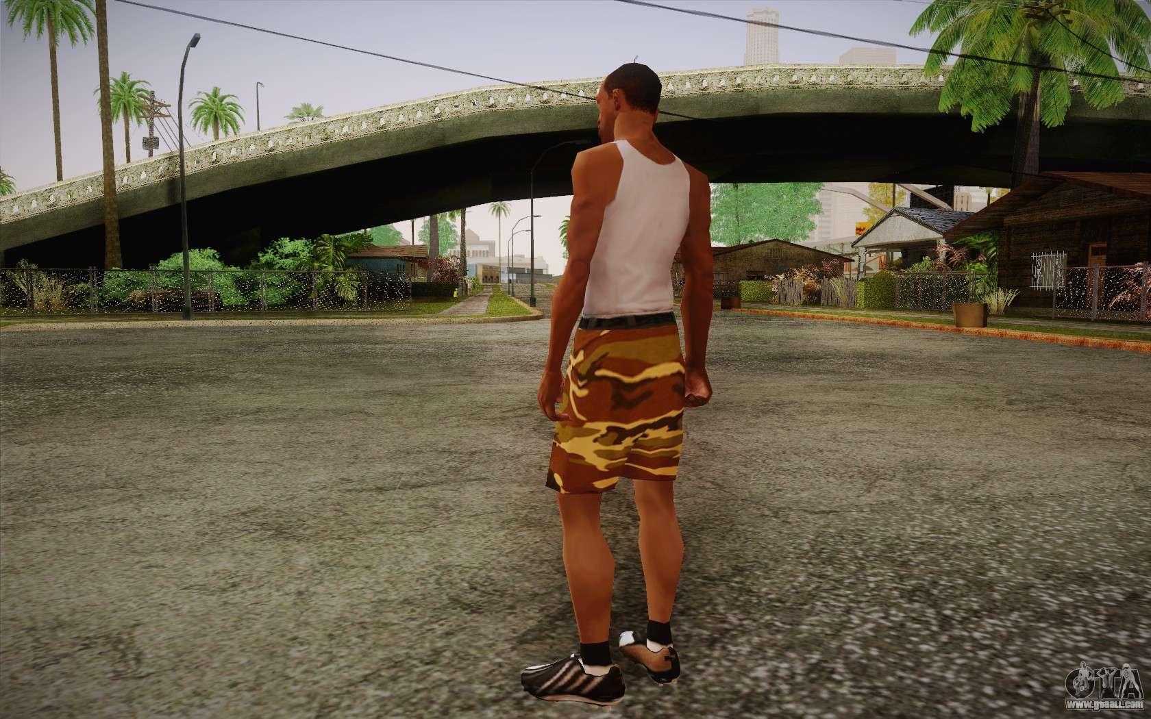 Ufo pants camo