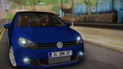 Volkswagen Golf Mk6 2010 for GTA San Andreas