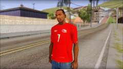 Seleccion Chilena T-Shirt 2010 for GTA San Andreas