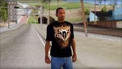 Randy Orton Black Apex Predator T-Shirt for GTA San Andreas