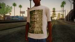 Keep Calm and Love Shirt for GTA San Andreas