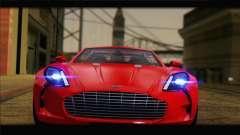 Aston Martin One-77 2010 for GTA San Andreas