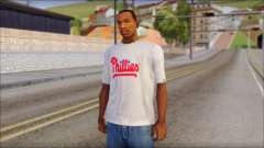 Phillies T-Shirt for GTA San Andreas