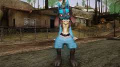Lucario from Pokemon