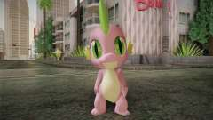 Spike from My Little Pony Friendship for GTA San Andreas