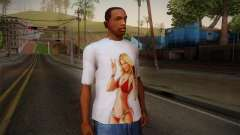 GTA 5 Hot Girl T-Shirt for GTA San Andreas