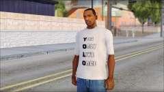 YOLO T-Shirt for GTA San Andreas