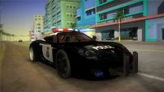Porsche Carrera GT Police for GTA Vice City