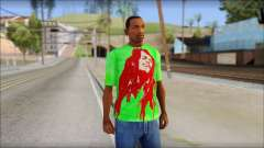 Bob Marley Jamaica T-Shirt for GTA San Andreas