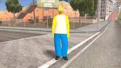 Homer Simpson Skin
