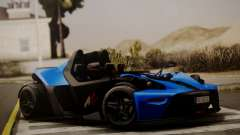 KTM X-Bow R 2011 for GTA San Andreas