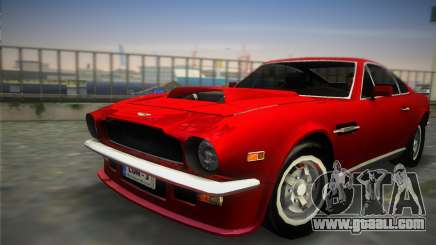 Aston Martin V8 Vantage 1970 for GTA Vice City