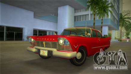 Plymouth Savoy Club Sedan 1957 for GTA Vice City