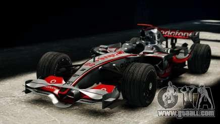 McLaren MP4-23 F1 Driving Style Anim for GTA 4