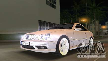 Mercedes-Benz CL65 AMG for GTA Vice City