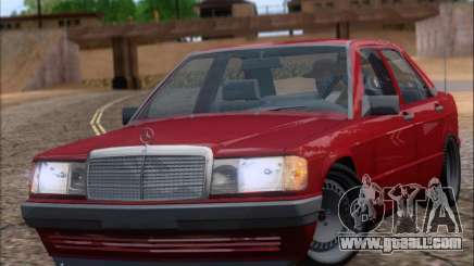 Mercedes Benz 190E Drift V8 for GTA San Andreas