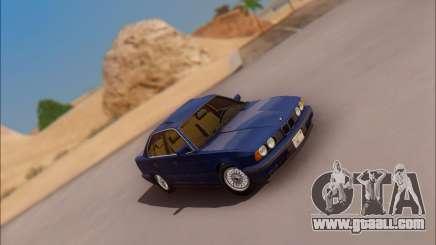 BMW 535i Stock for GTA San Andreas