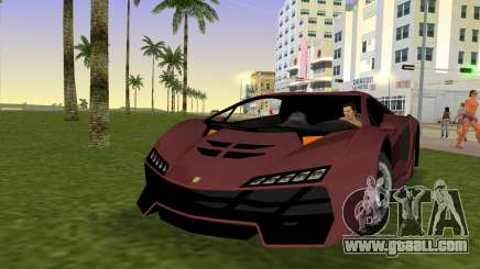 Zentorno from GTA 5 v2 for GTA Vice City