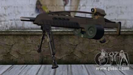 XM8 LMG Dust for GTA San Andreas