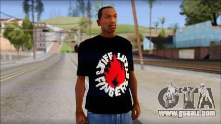 Stiff Little Fingers T-Shirt for GTA San Andreas