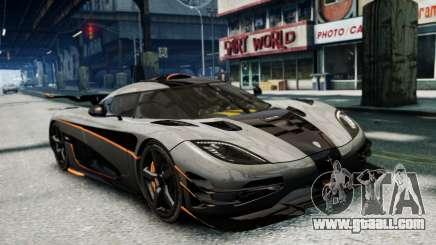 Koenigsegg One v2.0 for GTA 4