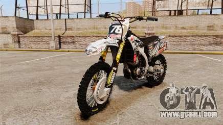 Yamaha YZF-450 v1.15 for GTA 4