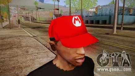 Super Mario Cap for GTA San Andreas