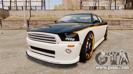 Bravado Buffalo Watch Dogs Black Viceroys for GTA 4