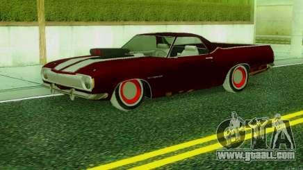 ГАЗ The Road SS v.2 for GTA San Andreas