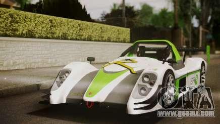 Radical SR8 Supersport 2010 for GTA San Andreas