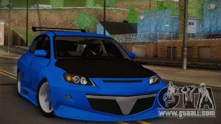Mazda Speed 3 Tuning for GTA San Andreas