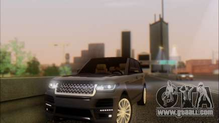 Land Rover Range Rover Startech for GTA San Andreas