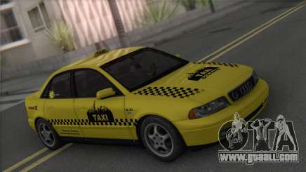 Audi A4 1.9 TDI 2000 Taxi for GTA San Andreas