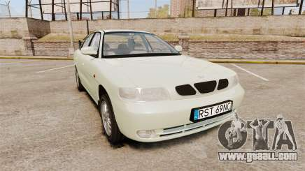 Daewoo Nubira I Sedan CDX PL 1997 for GTA 4