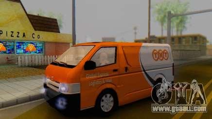 Toyota Hiace TNT Cargo Van 2006 for GTA San Andreas