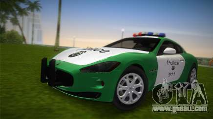 Maserati Granturismo Police for GTA Vice City