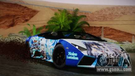 Lamborghini Reventon Black Heart Edition for GTA San Andreas