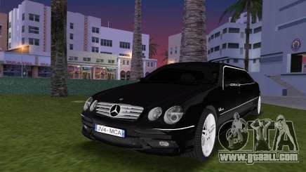 Mercede-Benz CL65 AMG Limousine for GTA Vice City
