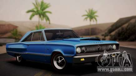 Dodge Coronet 440 Hardtop Coupe (WH23) 1967 for GTA San Andreas