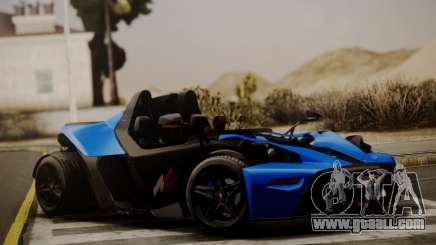 KTM X-Bow R 2011 for GTA San Andreas