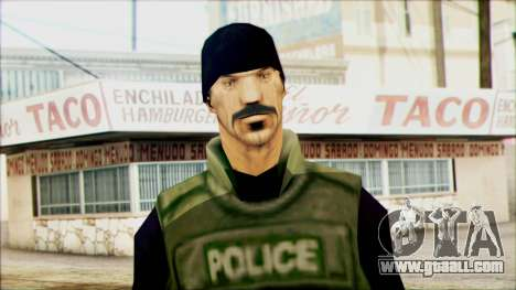 SWAT from Beta Version for GTA San Andreas third screenshot