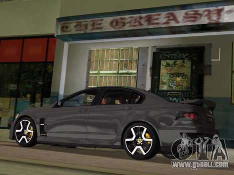 Holden HSV GTS 2011 for GTA Vice City wheels