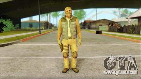 Arabian Resurrection Skin from COD 5 for GTA San Andreas