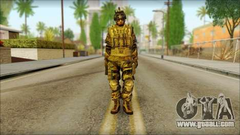 Soldiers of the EU (AVA) v5 for GTA San Andreas