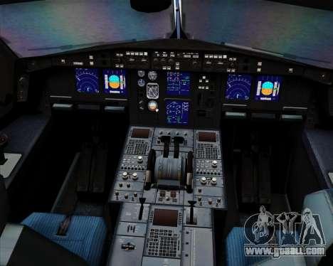 Airbus A340-313 Air China for GTA San Andreas engine